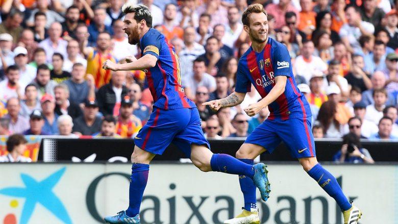Barcelona fiton në fund ndaj Valencias, i falet Messit (Video)
