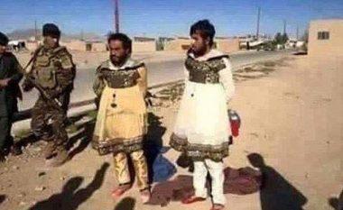 Luftëtarët e ISIS-it Ikin nga fushëbeteja të veshur si gra