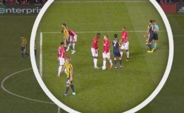 Edhe Mourinho flet për mosmarrëveshjen mes Martialit dhe Pogbas rreth penaltisë (Video)