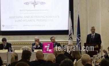 Thaçi: Nuk kemi aspirata për ndryshim kufijsh me Shqipërinë